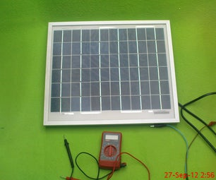 Solar PV Charge/discharge Current Monitoring