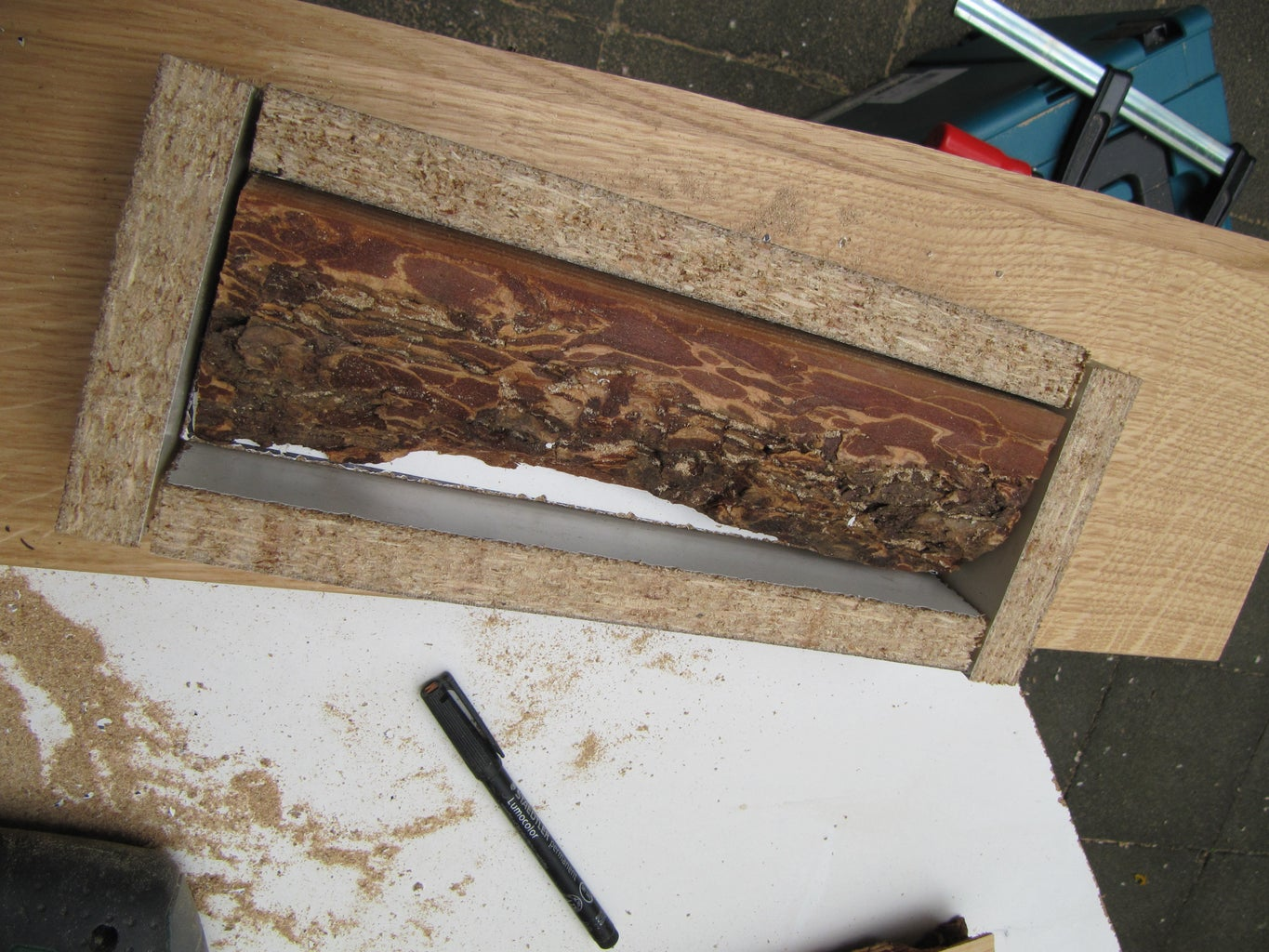 Build the Casting Mould for the Resin