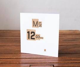 Using Cardboard Box Graphics to Make Unique Personalised Cards