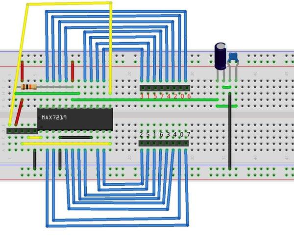DIY 8 X 8 LED Matrix With Controller