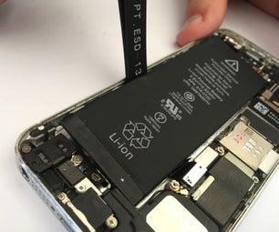 IPhone 5S和5C电池更换-如何