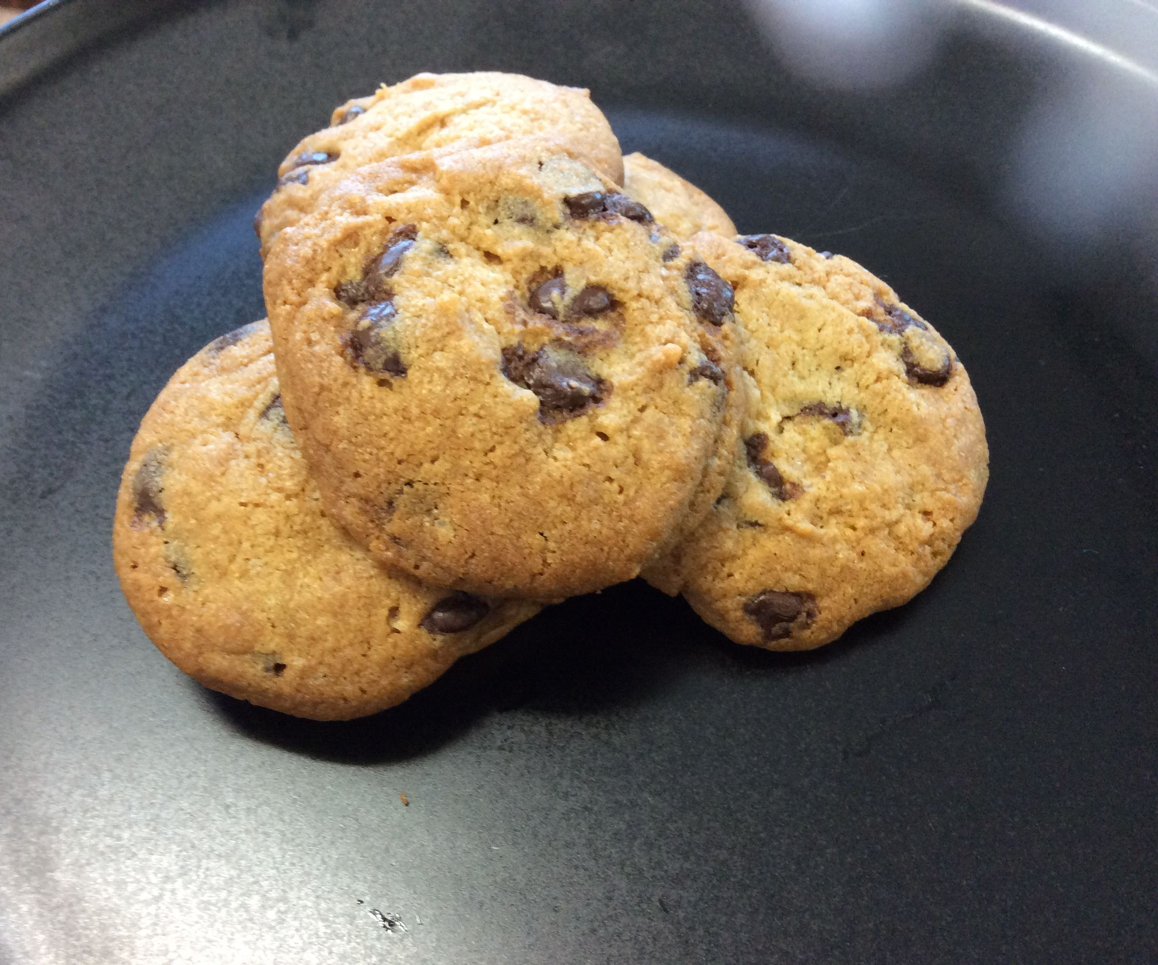 Eggless Chocolate Chip Cookie