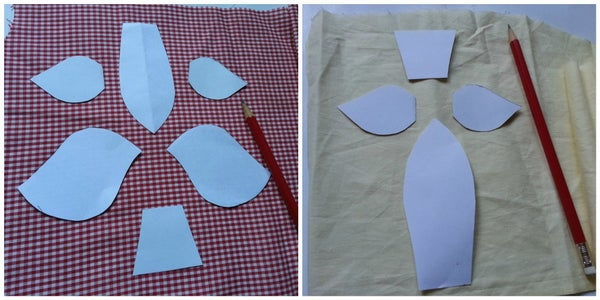 Template, Tracing and Cutting