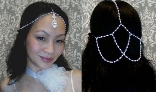 {CLARE} Wedding Head Jewel