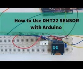How to Use DHT22 Humidity and Temperature Sensor With Arduino