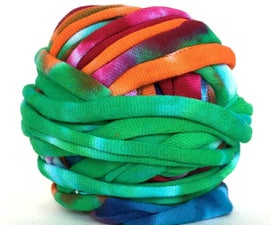 How to Make T Shirt Yarn From an Old Tee!