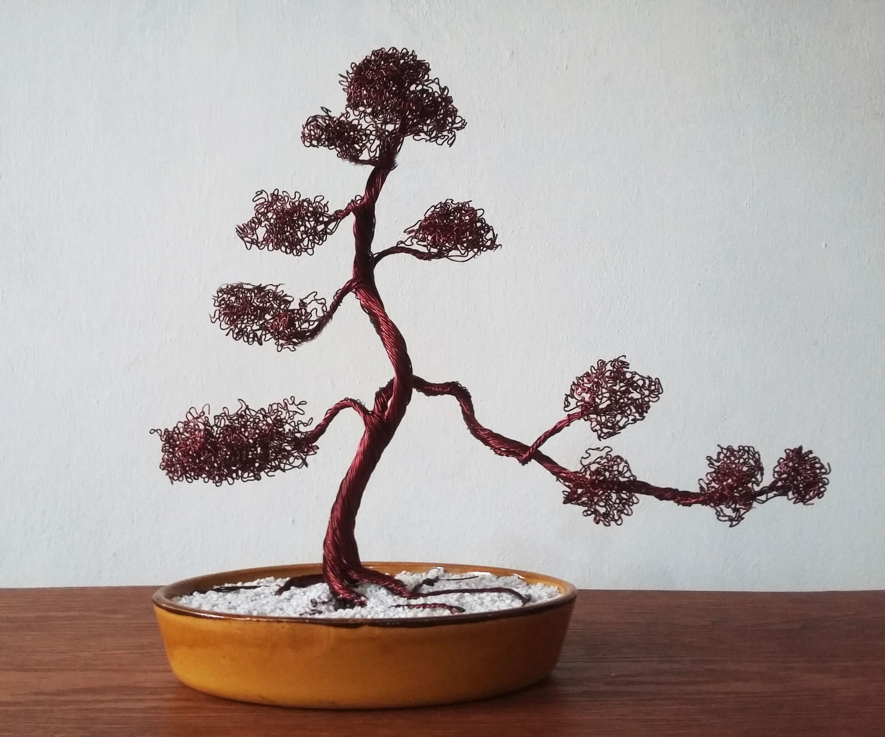 Wire Bonsai Tree 5 Steps With Pictures Instructables
