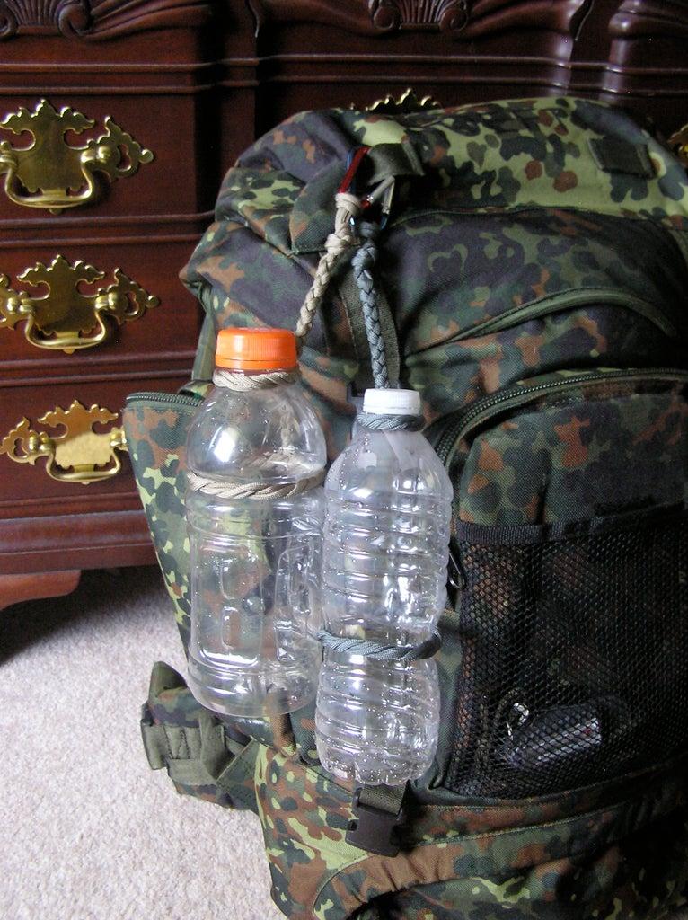 Paracord Water Jug Harness.
