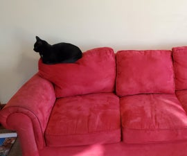Couch Cushion Reform and Cat Sitting Deterrent