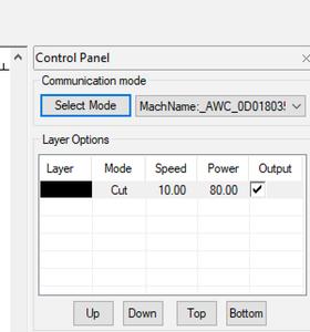 Configure the Laser
