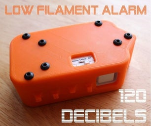 Extremely Loud Low Filament Alarm - Version 1.0