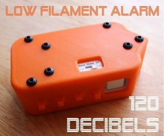 Extremely Loud Low Filament Alarm