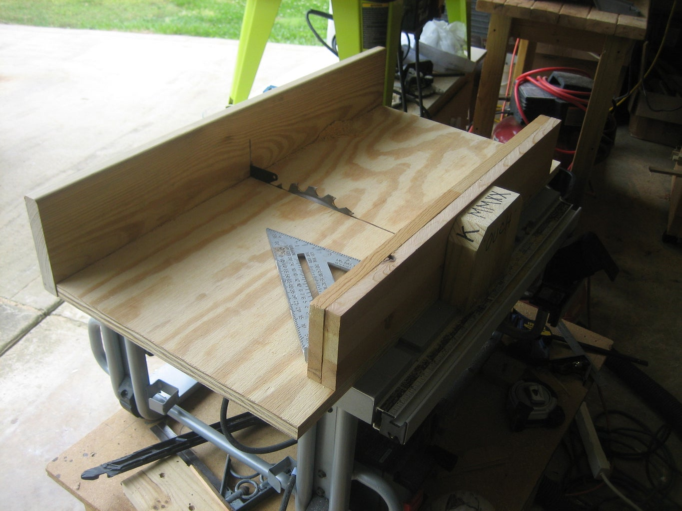 NEW TABLE SAW CROSSCUT SLED