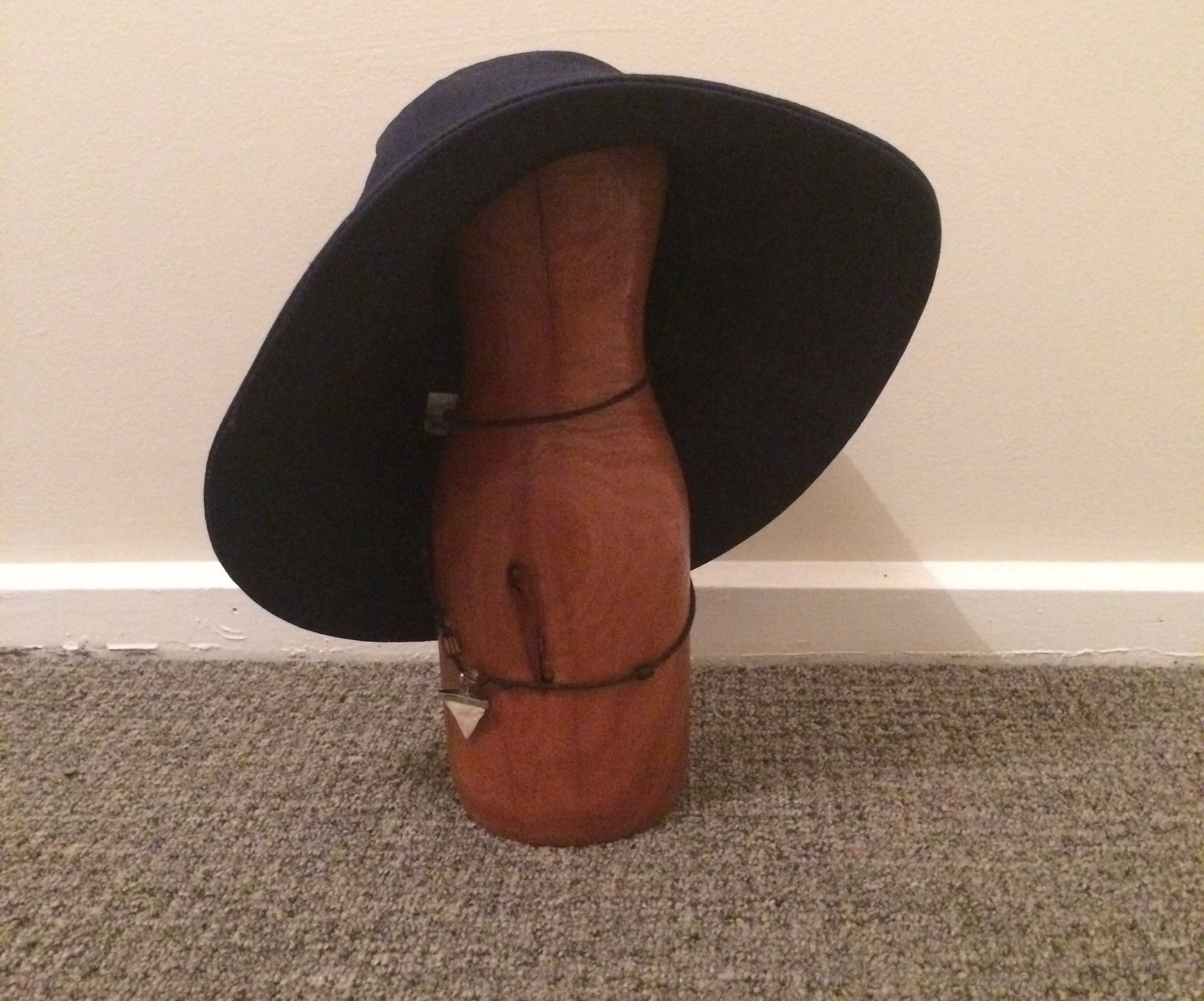 Hat and necklace rack