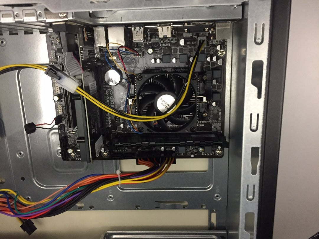 Installing the Power Supply