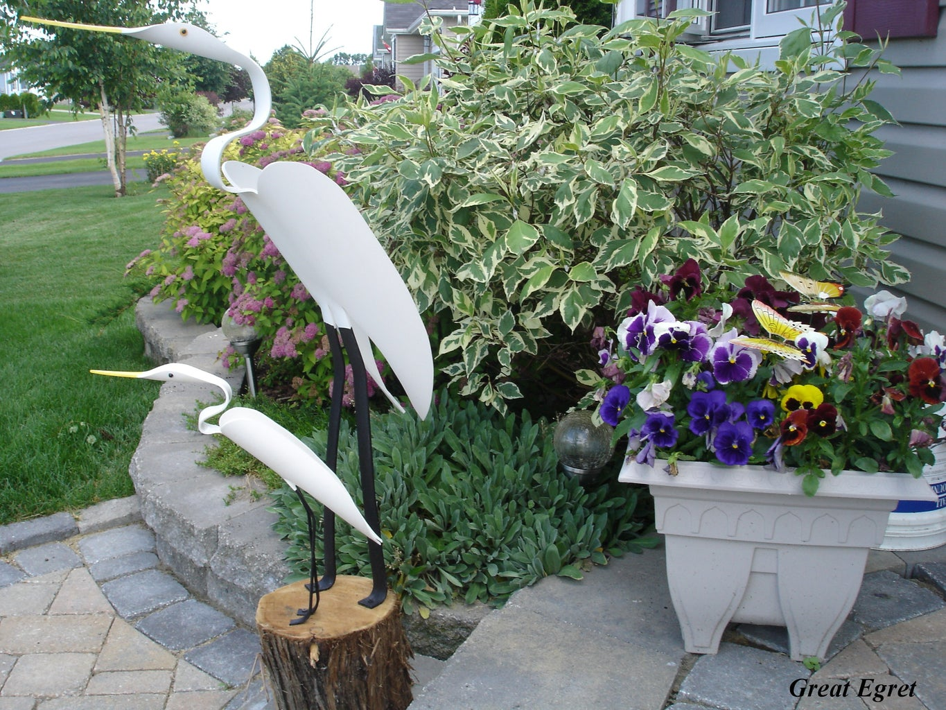 Making Yard Birds From PVC Pipe