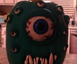 Jack-o-lantern Beholder Style