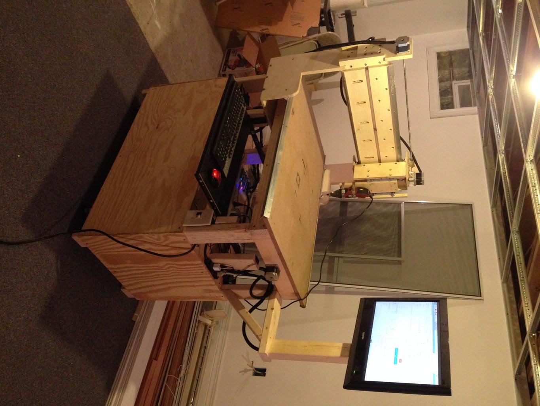 Raspberry Pi CNC Machine