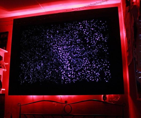 Optic Fibre Star Map