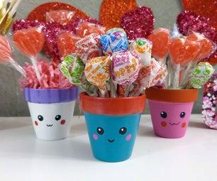 DIY Cute Flower Pots   Valentine's Gift Idea