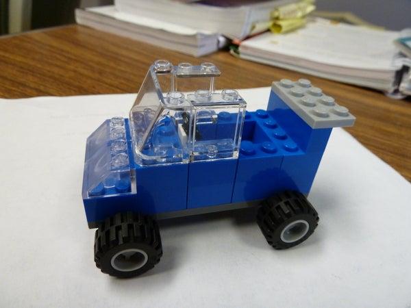 How to Build a Lego Car