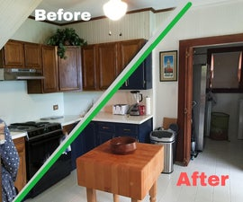 Reno Your Kitchen With Just Paint(mostly)!