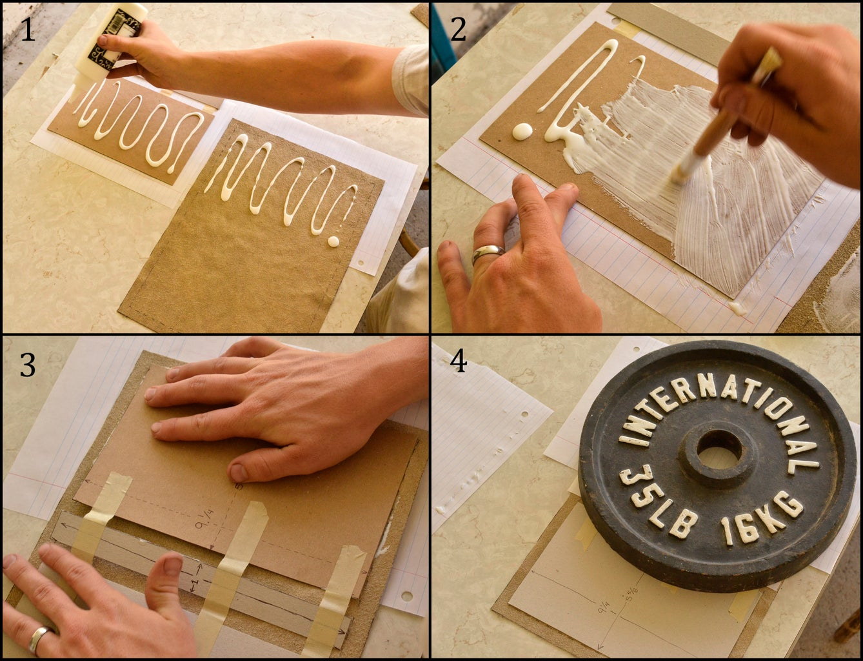 Glue Leather to Cardboard