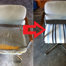 Restoring An Old Computer Chair