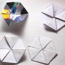 Trihexaflexagons and Hexahexaflexagons