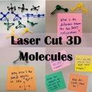 Lasercut Molecular Models