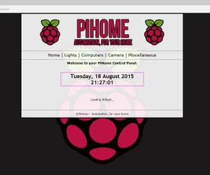 Raspberry Pi Home Automation - Control lights, computers, CCTV and more!