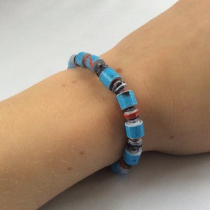 Recycled Paper Bead Jewellery