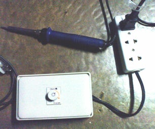 Recycling Your Old Dimmer Switch As a Variable Temperature Control for Your Soldering Iron