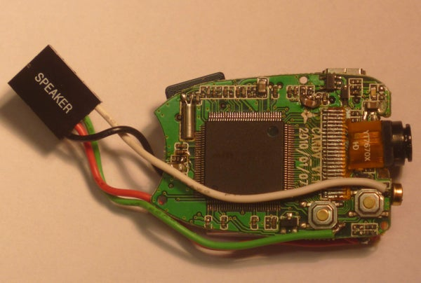Keychain 808 Spy Camera With PIR Motion Detector Controlled by Arduino Chip
