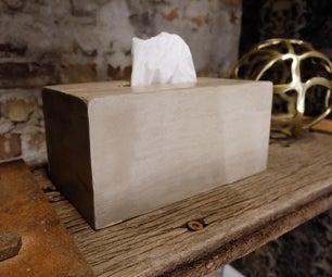Easy Concrete Tissue Box Cover
