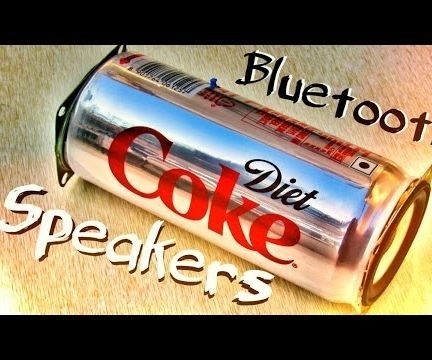 Coke Can Bluetooth Speakers !