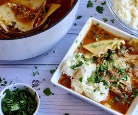 Lasagna Soup | One Pot Meal