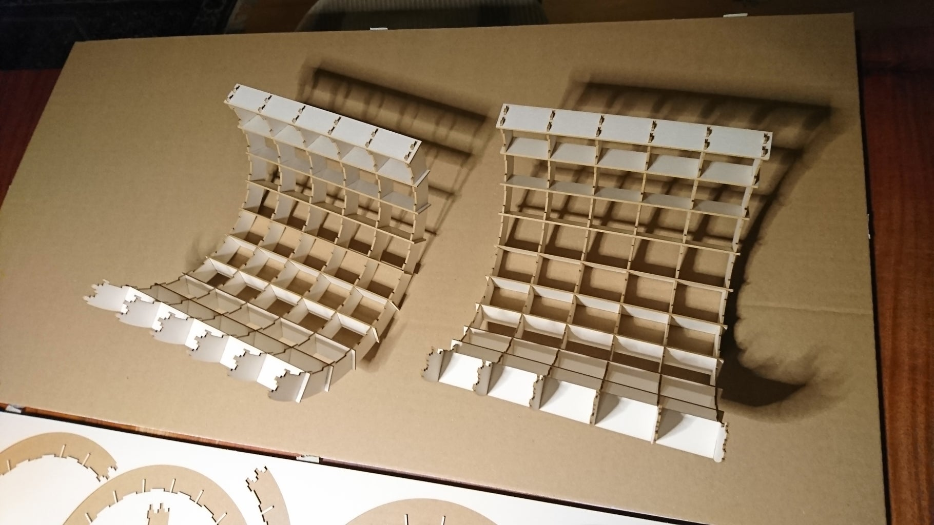 Laser-cutting and Preassemble