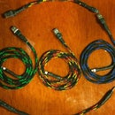 No Solder Nylon Wrapped Phone Cable!