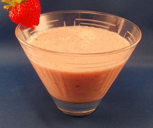 Strawberry Delight Drink for One