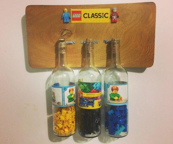 Botellas De *LEGOs Vino* Colgante.