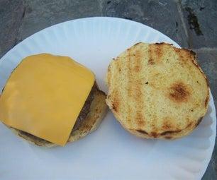 How to Grill a Cheeseburger or Hamburger