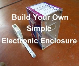 简单的DIY电子外壳
