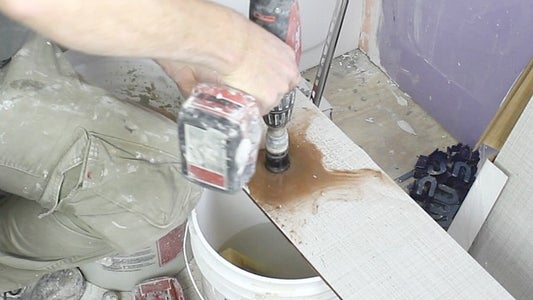 How to Cut Holes for Tub Spout