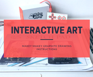 Makey Makey Graphite Drawing Instructions
