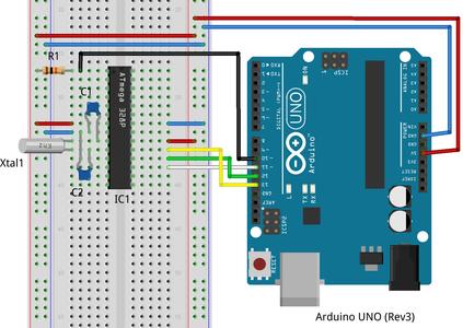 Programming ATmega328P Microcontroller With Arduino Uno