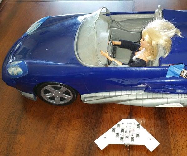 Barbie Arduino Car Alarm