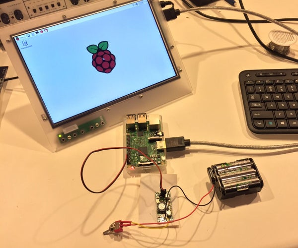Raspberry Pi Powered by Batteries