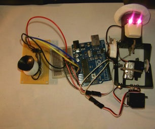Very Basic Pan Tilt Using Arduino