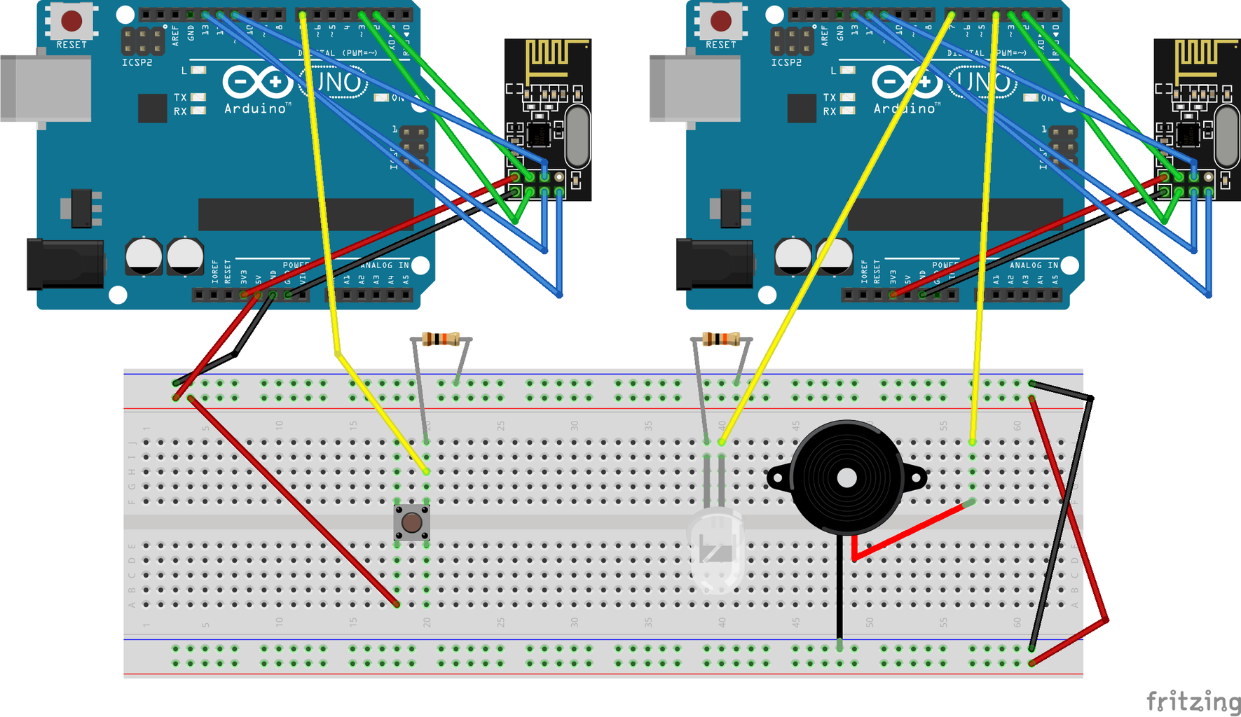 Wireless Module and Wiring